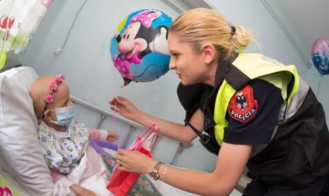 Policemen In Albania Surprised Kids In Hospital By Dressing As Superheroes