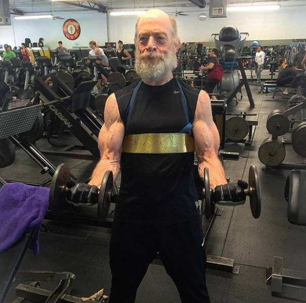 J.K. Simmons Is Hitting The Gym Hard To Get All Jacked For His New Role