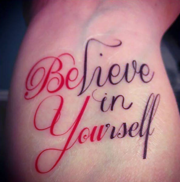 Neat Tattoos With A Hidden Meaning