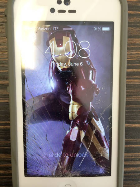 Neat Ways To Make Your Cracked Phone Screen Look Cool