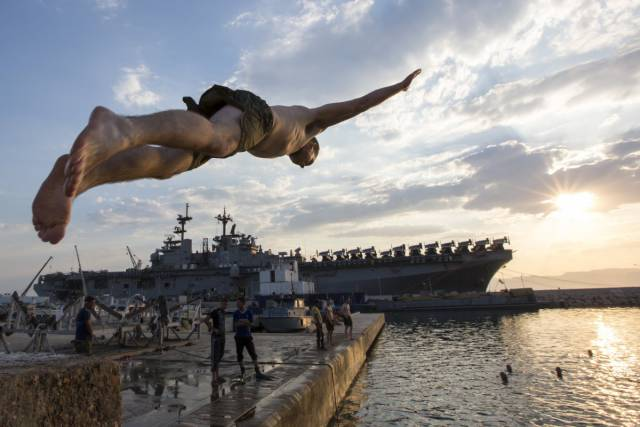Us Navy And Us Marine Corps Have The Best Places To Dive From