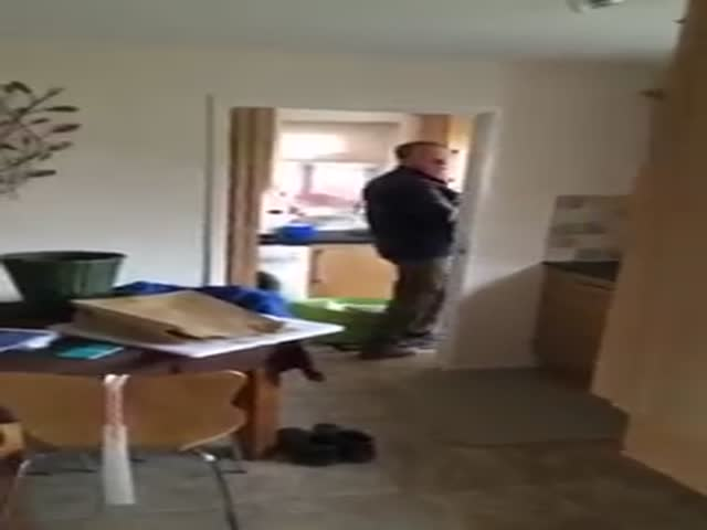 Guy Shoots His Dad With A Nerf Gun Everyday