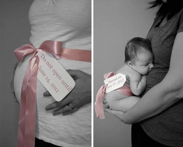 Awesome Photos Before And After Giving Birth