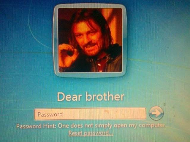 Guy Set Up His Laptop To Take A Picture After 3 Incorrect Password Attempts