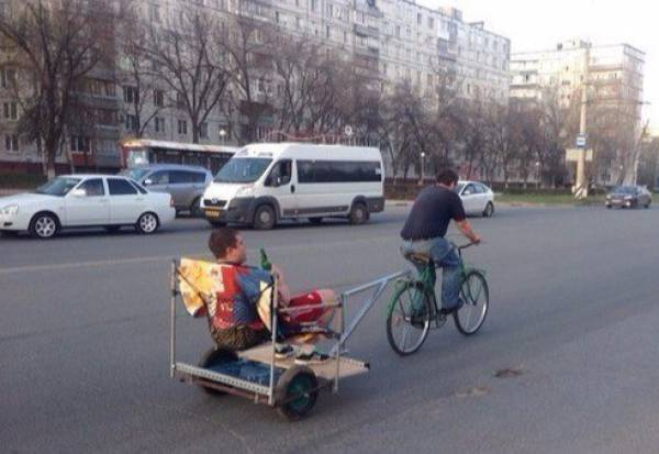 Russia, Where Everything Is Kinda... Different