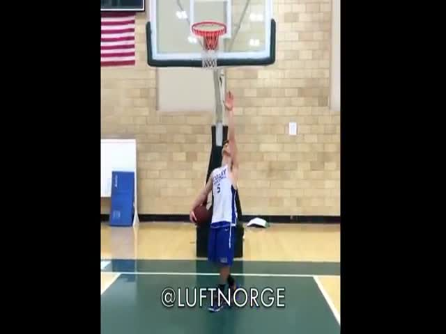 Who Said White People Can't Dunk?