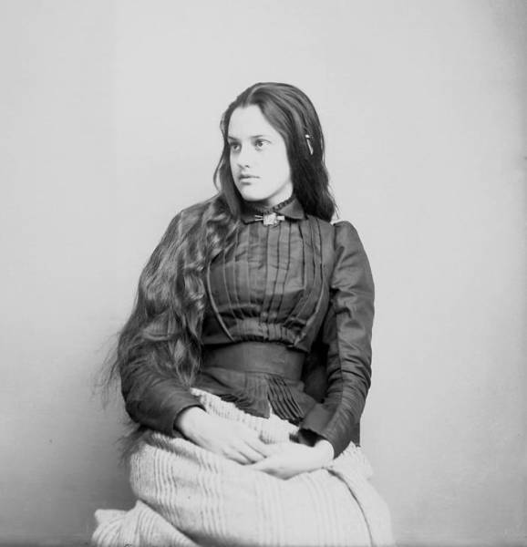 Beautiful Portraits Of Native American Teen Girls From 1800-1900 36 Pics - Picture -6823