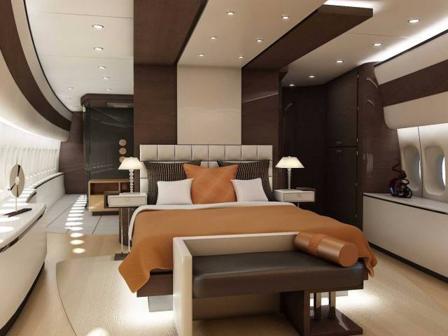 This Private Jet Is A Flying Palace