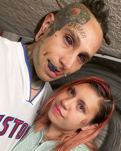 People With Extreme Body Modifications