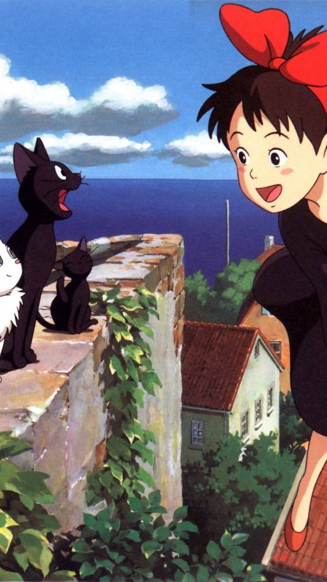 Amazing Wallpapers For Your Smartphones From Studio Ghibli