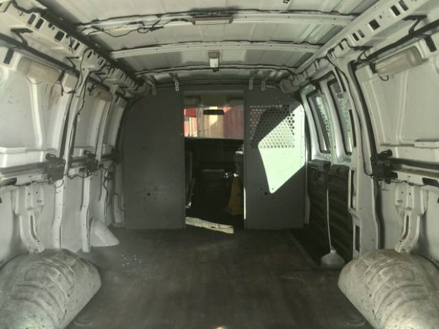 Dad And Son Transformed An Old Van Into A Moving Office And A Studio
