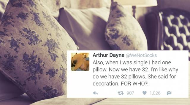 Guy Posts Hilarious Tweets About What It's Like To Move In With A Girlfriend