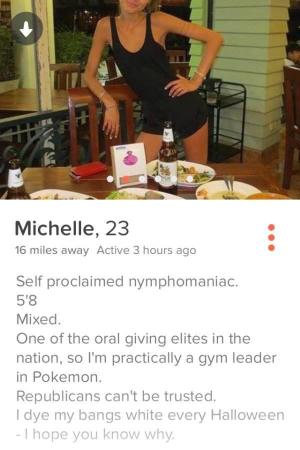 Hilarious And WTF Tinder Profiles