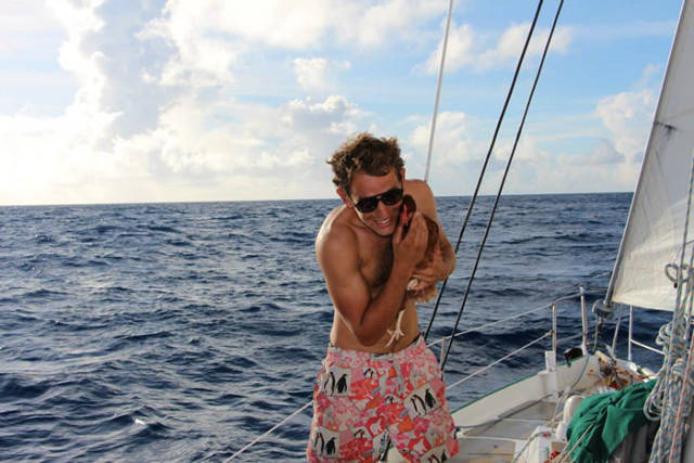 The Fascinating Adventures Of A Frenchman And A Hen Sailing Together Around The World