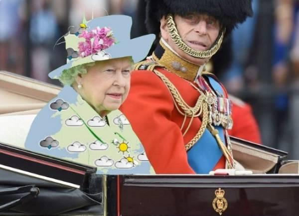 The Internet Had A Little Fun With Queen Elizabeth's Coat