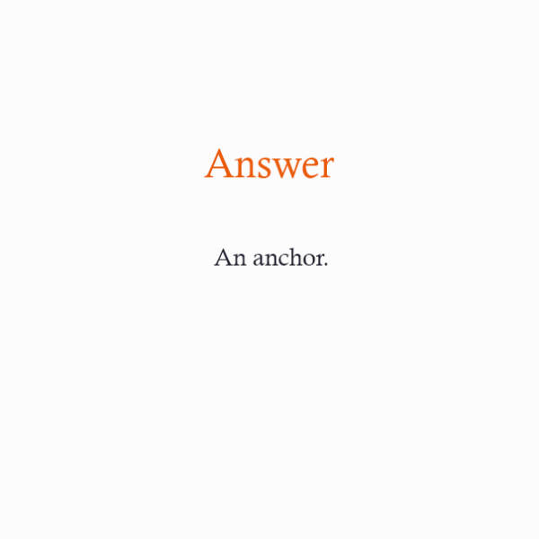 Riddles Answers
