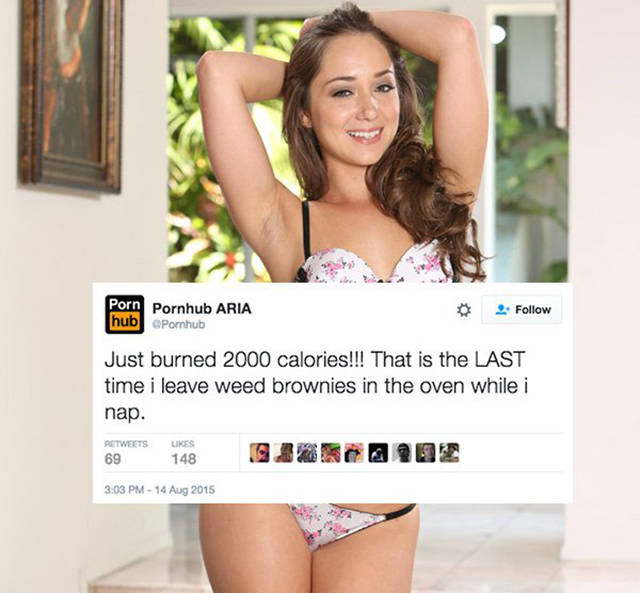 The Girl Who Runs Pornhub's Twitter Account Is Quite Witty