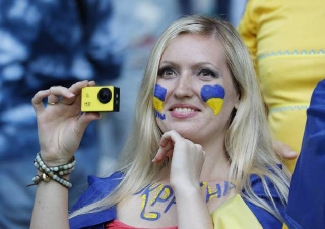 The Many Faces Of Soccer Fans Of Euro 2016
