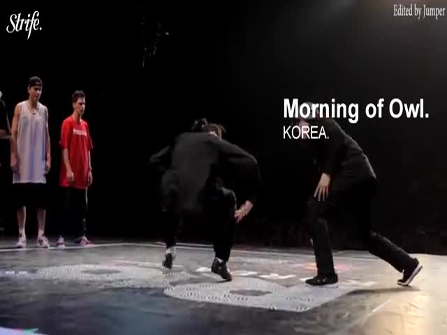 Break Dancers Pulled Off An Incredibly Creative And Difficult Performance