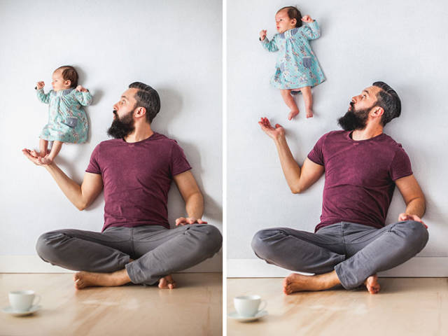 Happy Time: Dads And Their Kids