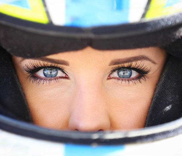 Hot Amber Balcaen Is A Talented Female NASCAR Driver