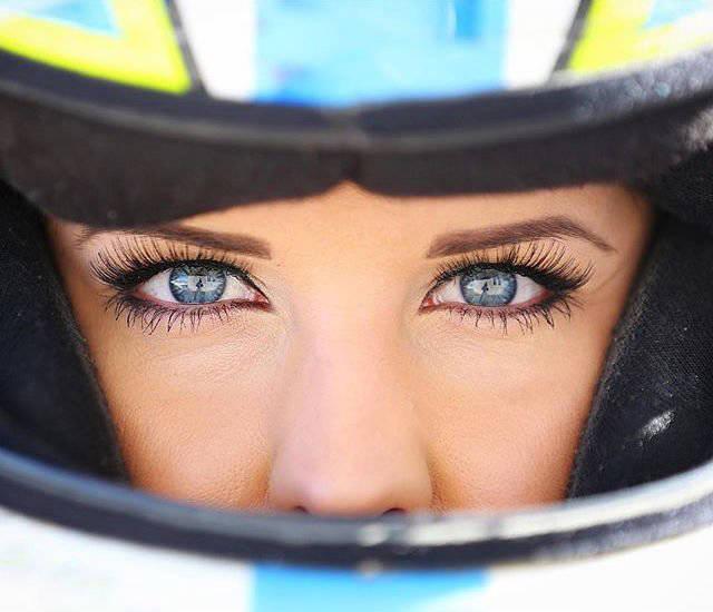 Hot Amber Balcaen Is A Talented Female NASCAR Driver