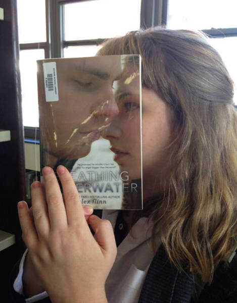 Magazine And Book Covers Can Create Amazing Optical Illusions