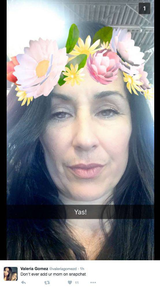 When Moms Totally Got How Snapchat Works