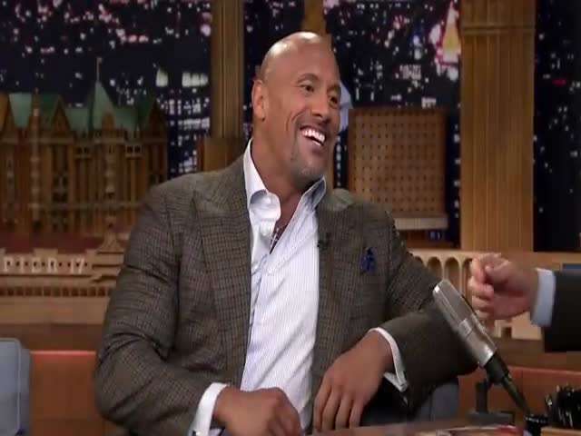 Jimmy Fallon Tempted 'The Rock' To Break His 20-Year Candy Boycott