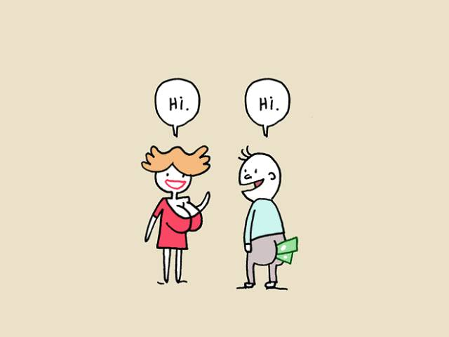 Comic That Explains How Love At The First Sight Works