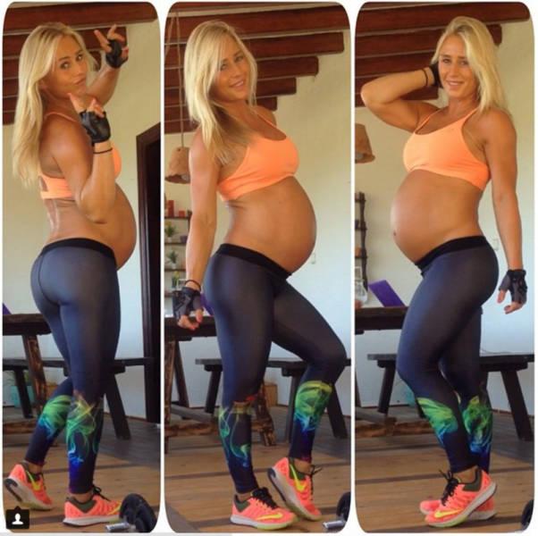 Bodybuilder Mom Regains Her Amazing Initial Shape 11 Months After Her Pregnancy
