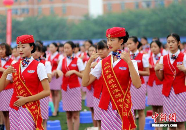 You Won't Believe What Chinese Girls Have To Do To Become Flight Attendants