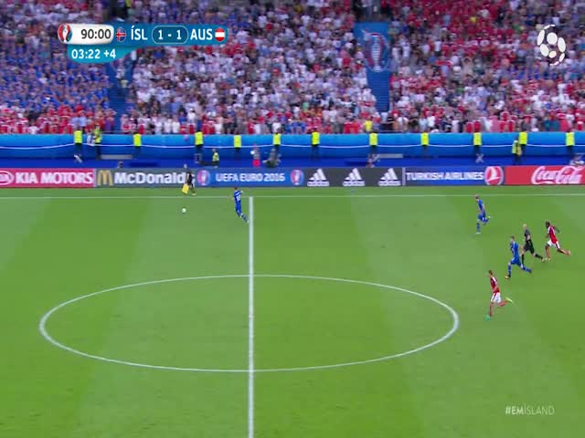 Icelandic Commentator Completely Loses His Sh*t When His National Team Wins In The Last Minute