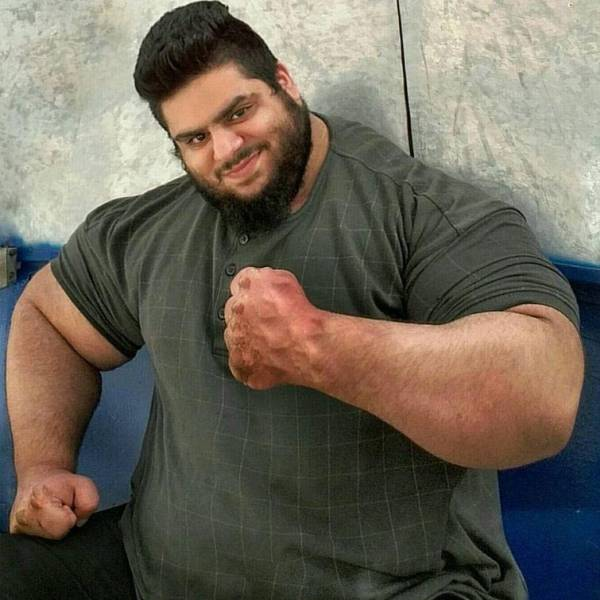 "Meet Real Life Iranian ""Hulk"""