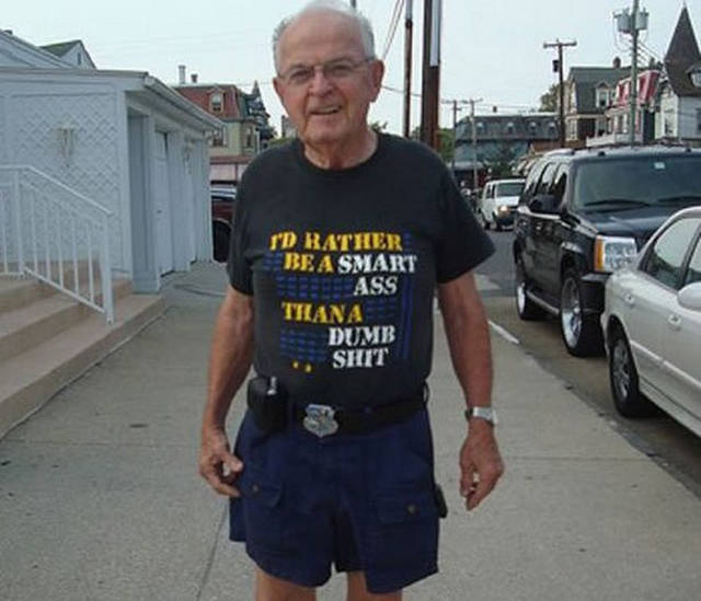 Old People Wearing Awkward T-Shirts In Public Without An Ounce Of Embarrassment