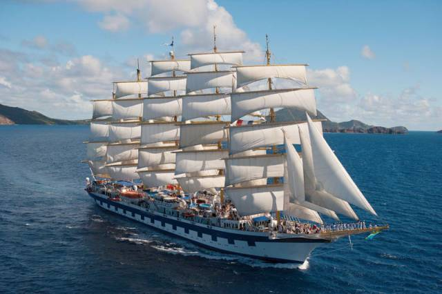 Royal Clipper: The Largest Full-Rigged Sailing Ship In The World