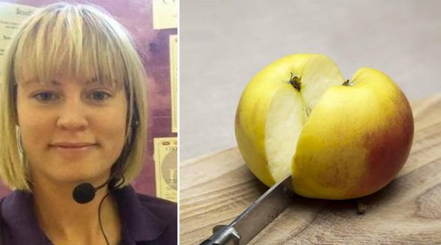 Teacher Demonstrated What Bullying Is By Using Two Apples