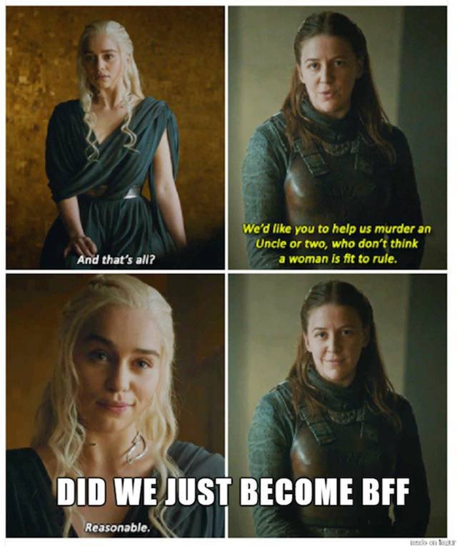 "These ""Game Of Thrones"" Memes Will Tickle Your Funny Bone"