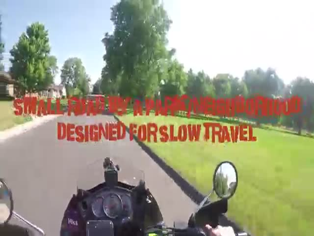 Biker Teaches This Crazy MOFO A Good Lesson On How To Behave