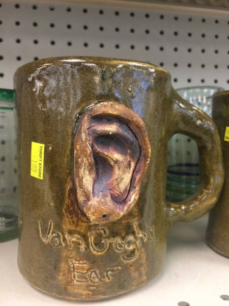 You Can Find Just About Anything At The Thrift Shop