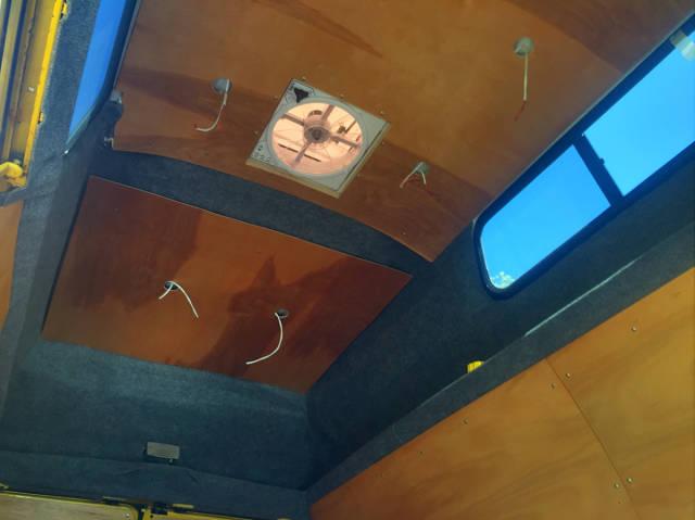 "Guy Turned An Old Van Into ""Adventuremobile"""