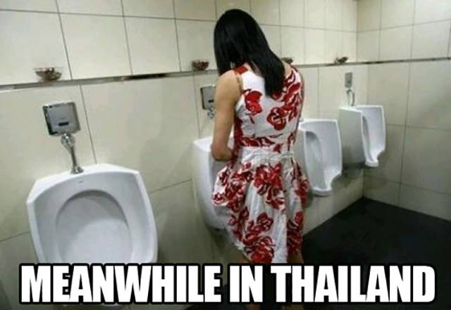 Meanwhile, In Thailand