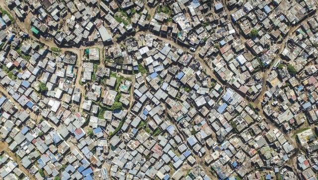Rich vs Poor Neighborhoods Of Cape Town In South Africa