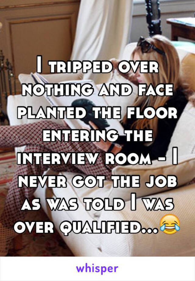People Share Their Embarrassing And Awkward Stories Of How They Messed Up Their Job Interviews