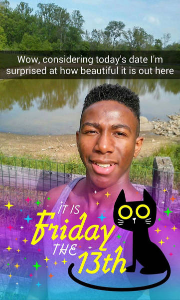Guy's Hilarious Photo Story Explains Why Friday 13th Is Some Serious Sh#t