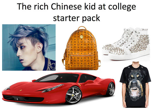 "Spot-On ""Starter Packs"" For Different Types Of People"