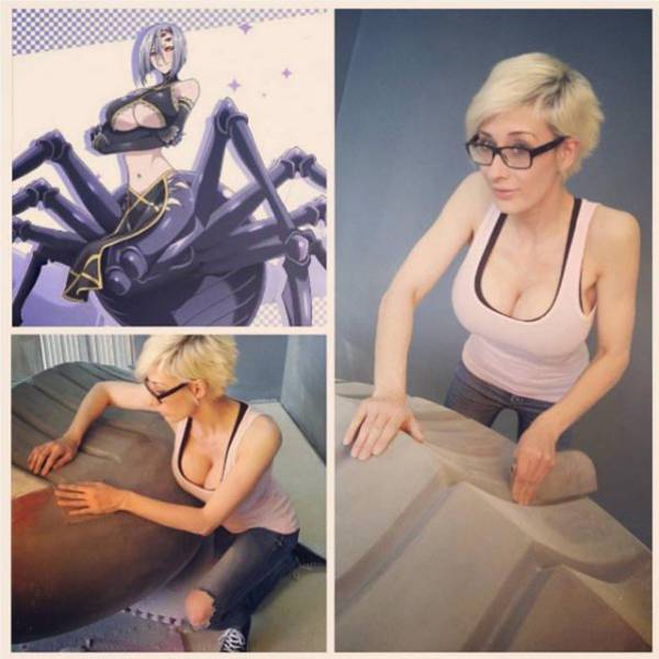 Absolute Smokeshow And Cosplayer Marie-Claude Made An Incredible Spider Costume