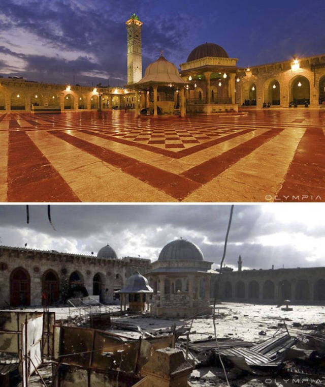 Photos Of Aleppo, One Of The Most Ancient Cities In The World, Before And After The War