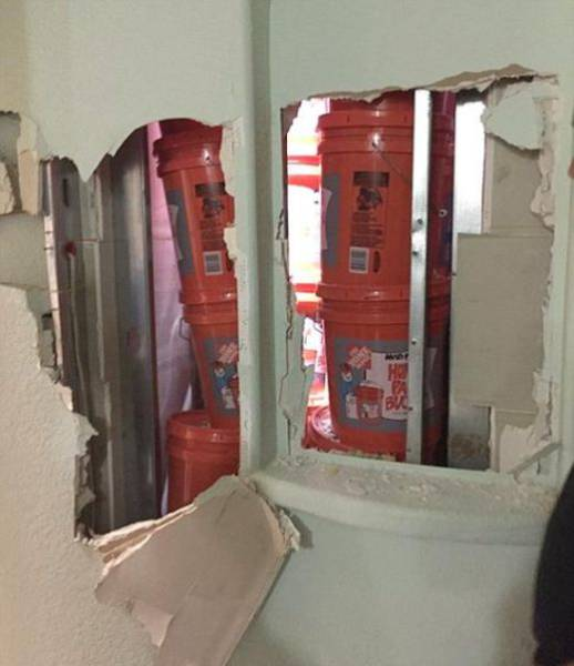 Whopping $24 Million In Cash Were Found Behind The False Walls In A Push Home Of Drug Traffickers