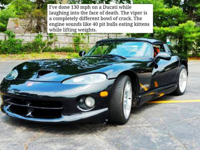 Guy Says You Shouldn't Buy His Viper, But Makes You Want to Buy It Even More!